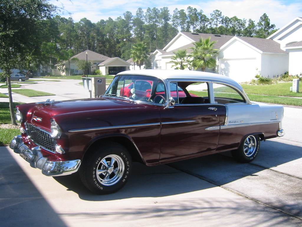 Jeff's 55 Chevy Belair