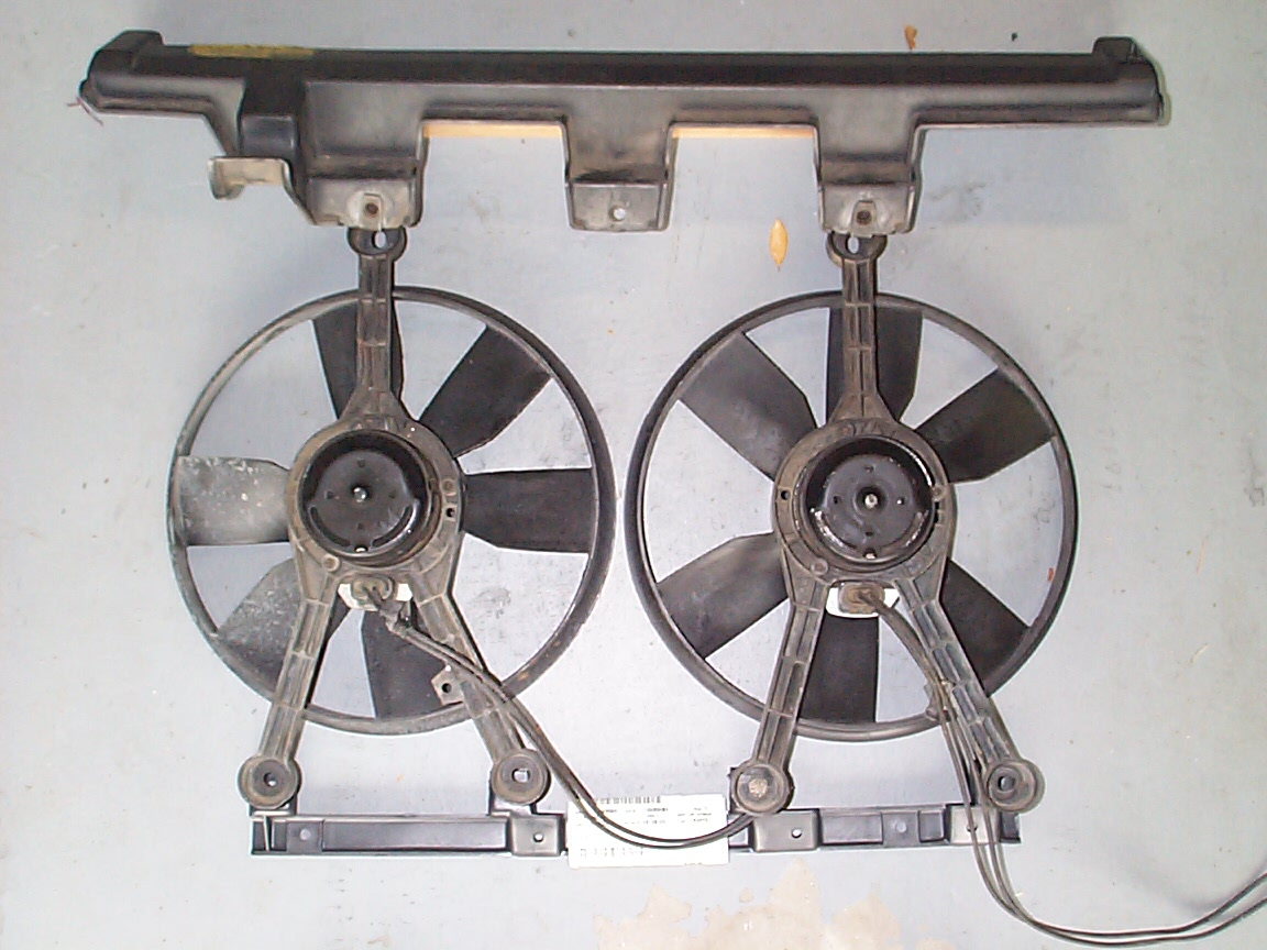 How To Convert From Belt Driven Clutch Fan Dual Electrical Fans Ac Wiring Electric This Is A Diagram Of The Setup